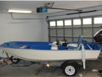 Boston Whaler 13 ft with 1996 Evinrude 50 HP 2 stroke