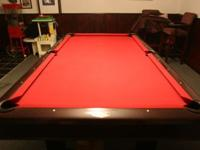 Looking to sell my pool table with all the needed