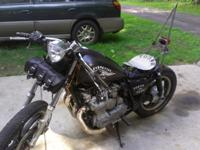 For Sale is a 1982 Custom Yamaha XJ 650-4 Cylinder-