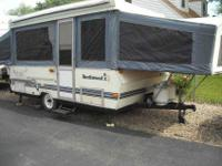 1995 ROCKWOOD XL pop up camper -canvas thick vinyl in