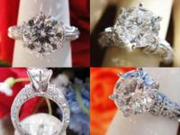 2.01CT Round Brilliant Sitara Diamond Engagement Ring