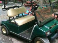 Hello up for sale is a very clean 2001 club car ds with