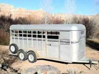 1989 Express horse trailer in attractive shape hauls
