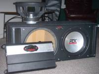 two 12 inch subwoofers - MTX Thunder 7500 Sledgehammer