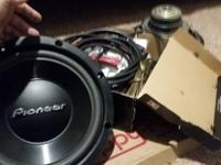 "2 12"" Pioneer Subwoofers (for car) for sale."