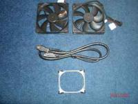 im selling 2 120mm case fans both for $4 there brand