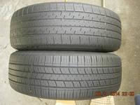 This is a mis-matched pair of 195/65R15 tires for