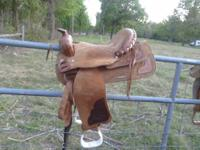 "2 Western 15"" Saddles; $125.00 for Saddle in first"