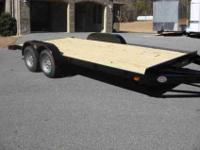 New Heavy Duty Tractor or Car Hauling Trailer 7 ft X 18
