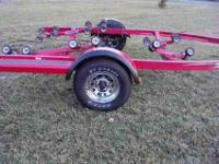 This is a new old stock 2005 Shoreland'r roller trailer