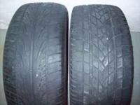 I have two 225/55R16s for sale. They are not a pair but