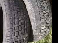 2 delta fortune tires.175/65/14 in good shape.$50 firm.