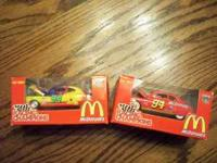 HERE WE HAVE (2) 1:64 SIZE, HOT WHEELS, ARE IN ORGINAL