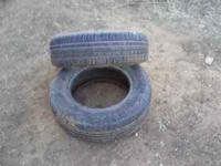 I have two used 195/70/R14 tires in good condition. $25