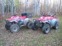 I have for sale, 2- 1994 Polaris 400L, liquid cooled