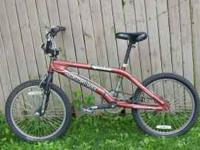"I have 2 mongoose bikes that are 20"" $55 for the chrome"