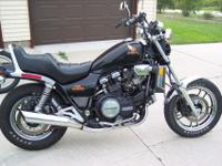 1984 Honda Magna V65. Bike is clean with 11,000 miles