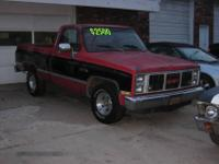 I have a 1987 GMC Sierra Classic for sale. I will take
