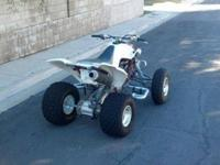 I have a 2004 Yamaha Raptor 660 with VERY LOW hours. I