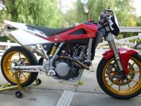 VERY RARE AND CLEAN BUILT 2007 HUSQVARNA 450 SMR