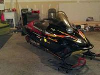 Up for sale is a 99 Mountain Max 700 Triple with 2300