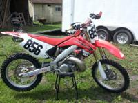 BIKE MUST GO!! 2001 CR250 completely updated.2007
