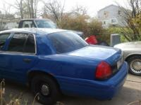 its a 2002 crown vic the police package has new shocks