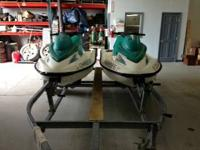I am selling my TWO 2001 Seadoo GTS jet skis and