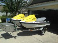 2004 Yamaha XL700 Wave runners for sale in great