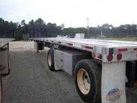 2006 UTILITY 48X102 SPREAD AXLE FLATBED (2 AVAILABLE)