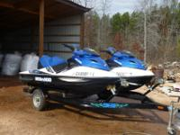 We are selling our Sea Doo GTX 215 hp Supercharged
