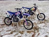 2008 YZ 85 ...$1300. -- Blue Bike--. Works hookup frame