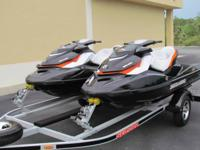 2011 Seadoo GTI 155 SE  Pair  BeautifulTrailer  Like