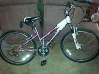 1st-Girls Schwinn ranger 2.4fs 21 speed bike. Shimano