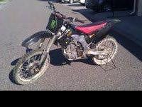 Have a dirt bike for sale. Need the money asap. has