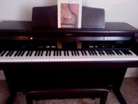Top of the line digital intelligent piano is fully