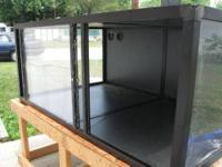 (2) 29 gallon aquariums,stand for both,(2) red ear