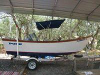 1991 16' Boat made by Posh. 40 HP Yahama motor. Magic