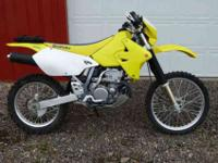 I have a very low hour and clean six DRZ 400E for sale.