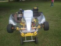 super nice and super clean crg shifter cart. runs good.