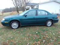 I am selling my 1997 Chevy Malibu V6 with 144,000