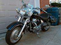 This motorcycle was purchased new in 2006 for $3800 and