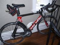 Selling a nice Cervelo Time Trial or triathlon bicycle.