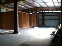 3000 sq ft of enclosed storage space across the street