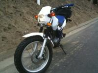 Up for sale this Yamaha 200 TW garage kept very low