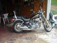 Yamaha Virago 1000 cc 1984 bike exc, original