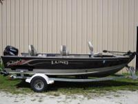 2002 Lund Pro Angler 16' 50 HP Suzuki. Take a look at