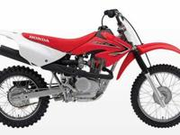 2011 HONDA CRF80, Extreme Red, as the smallest member