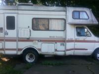 "1984 FORD E350 MOTOR HOME FOR SALE $2800.00 ""MOBILE"