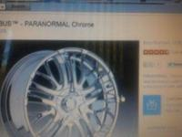 "Selling my 24"" Incubus Alloy 500 Paranormal Rims"